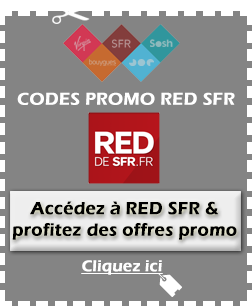 Code promo SFR Red disponible