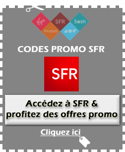 Code promo SFR disponible