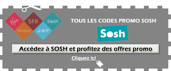 Code promo Sosh disponible