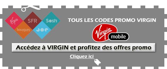 Code promo Virgin Mobile